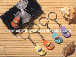 Miniature Flip Flop Decor Key Chain for Premium Gift pictures & photos