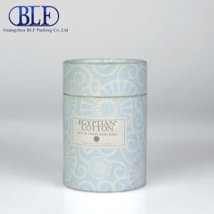Two Layers Cardboard Round Paper Gift Box (BLF-GB058) pictures & photos