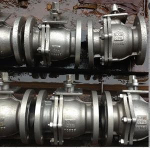 Stainless Steel 2-Pieces Ball Valve pictures & photos
