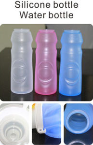 Silicone Bottle Portable Folding Outdoor Bottle Household Sporting