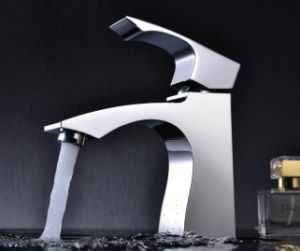 Luxury Single Lever Basin Faucet (DH33) pictures & photos