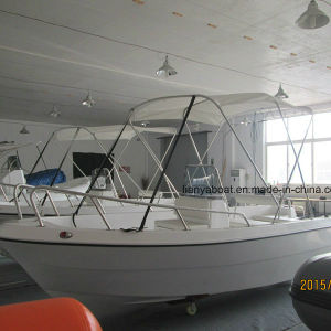 Liya 8 Person Fiberglass Fishing Boat with Motor Sale pictures & photos