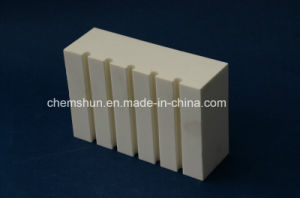 95% Alumina Ceramic Grooved Tile pictures & photos