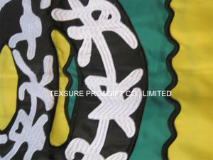 Embroidery State Cotton Polyester Outdoor Display Flag pictures & photos