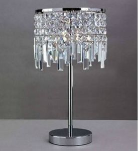 Metal Table Lamp with Crystal Shade (WHT-307) pictures & photos