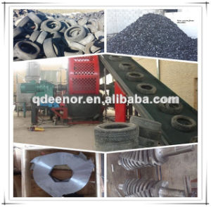 Excellent Quality Rubber Crusher for Scrap Tyre Recycling Line pictures & photos