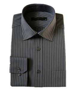 Men′s Cotton/ Poly Dress Shirts (PL-M-SHT002)