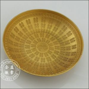 3D Gold Bowl for Wedding Feast, Decoration Crafts (GZHY-HD-080) pictures & photos