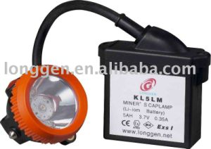 Explosion-Proof Underground Mining Lamp Kl5lm (A) LED Safety Rechargeable Miner′s Cap Lamp