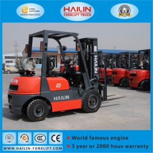 LPG Forklift Truck (Nissan engine, 2.5Ton) pictures & photos