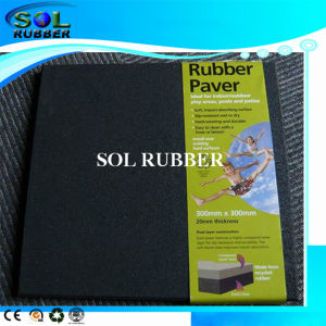 High Quality Special Packing Outdoor Rubber Tile pictures & photos