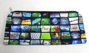 Heat Transfer Printing Neoprene Pencil Bags, Neoprene Pencil Case pictures & photos
