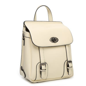 High Quality Guangzhou Wholesale Women Leather Backpack pictures & photos
