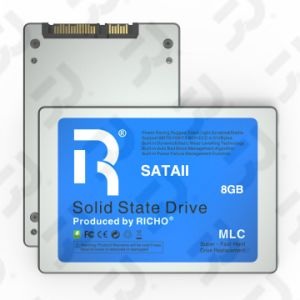 2.5inch Super Fast Sataii SSD, 8GB, Silver Metal Shell