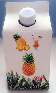 6 Layer 500ml Fuirt Juice Gable Top Carton with Alumium pictures & photos