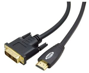 High Quality HDMI Male/DVI Male Cable