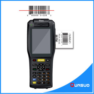 Wireless Mobile POS Terminal Android Barcode Scanner with Thermal Printer