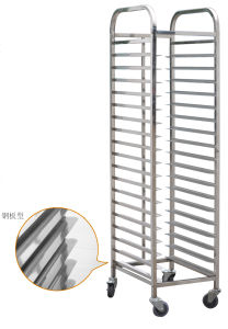 Knock-down Rack Trolley for Bakery Oven with 18 Layers (TMT-10012) pictures & photos