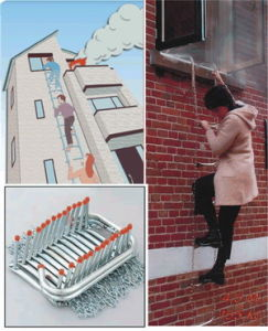 Fire Escape Ladder (TGR-EL) , TUV Approved pictures & photos
