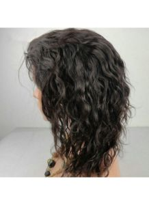 100% Virgin Human Hair Natural Wave Full Lace Wig pictures & photos