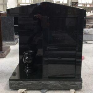 All Black Granite Companion Cremation Columbarium pictures & photos
