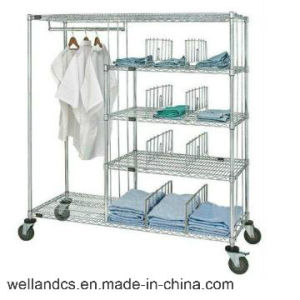 NSF Wire Metro Shelving for Hospital and Drugstore (HD185463A5C) pictures & photos