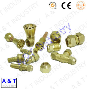 CNC OEM ODM Customized Brass/Aluminum/Stainless Steel Brass Fitting Parts pictures & photos