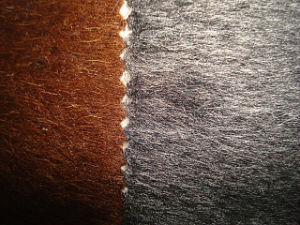 Wool Blenched Double Side Plush Velvet pictures & photos