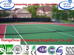 2015 Flat Outdoor Tennis Sports Floor Tiles pictures & photos