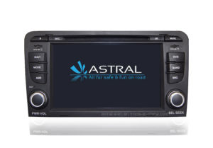 Automotive DVD Player with GPS System for Audi A3