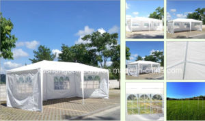 10′x20′outdoor Canopy Party Wedding Tent White Gazebo Pavilion W Side Walls pictures & photos