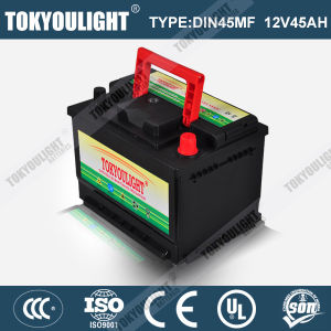 DIN Standard Maintenance Free Auto Battery with Long Life Time Service