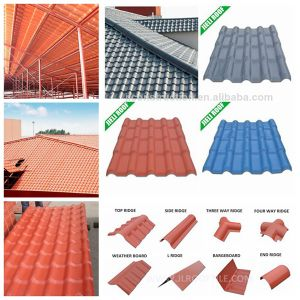 Apvc Corrugated Thermal Roof Tile Suppliers pictures & photos