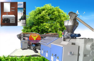 WPC Foam Sheet Production Line/PVC Board Extrusion Line/Plastic Machine Extrusion Production Line pictures & photos