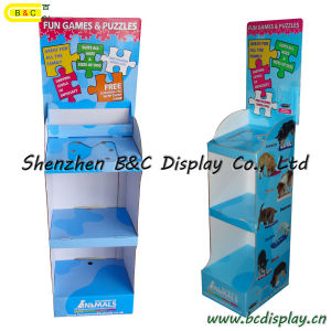 Pets Food Cardboard Funny Racks / Paper Display Stand with SGS (B&C-A018) pictures & photos