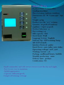 Electronic Vending Machine with OEM Service pictures & photos
