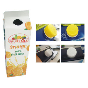 Paper Gable Top Carton for Juice pictures & photos