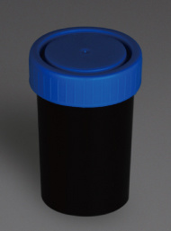 Black Urine and Stool Containers, PP Material, 100ml pictures & photos