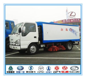 China Euro4 Dongfeng 4X2 Sweeping Truck 95HP for Road Street pictures & photos