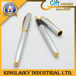 Customized Luxurious Ball Pen with Cap for Promotional Gift (KP-040) pictures & photos