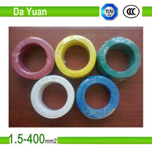 Copper Core PVC Coated Electric Building Wire 1.5mm pictures & photos