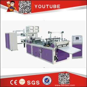 Hero Brand Full Automatic Non-Woven Fabric Bag Cutting and Sewing Machine (WFB-D) pictures & photos
