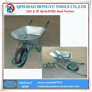 Galvainzed Metal Tray Industrial Wheel Barrows pictures & photos