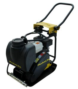Plate Compactor with Extra Low Hand-Arm Vibrations (HAVs) Mvs80
