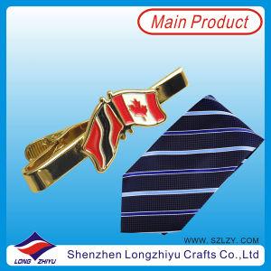 Popular Funny Tie Clip with Flag Design Men Tie Bar Tie Pin (lzy00003) pictures & photos
