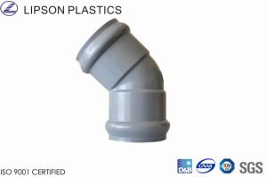 Rrj 45 Deg Elbow - PVC Gasketed Fittings pictures & photos