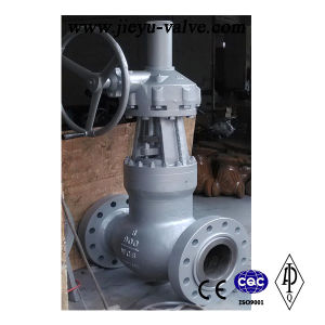 High Pressure 900lb Rtj Flange Globe Valve pictures & photos