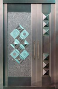 Newly Design Aluminium Steel Security Door pictures & photos
