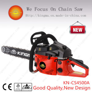 "45cc Gas Chain Saw CS4500 with 18"" Oregon Guide Bar and Chain (KN-CS4500A) pictures & photos"