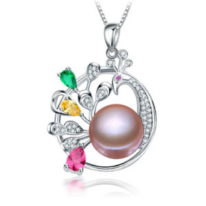 Fashion Freshwater Pearl Pendant 10-11mm AAA Button Animal Shaped Pearl Pendant pictures & photos